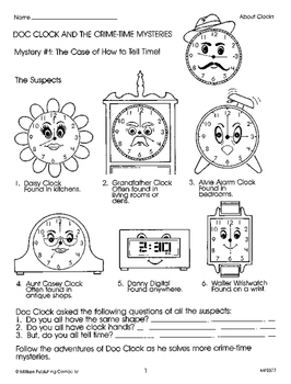 Doc Clock and the Crime-Time Mysteries