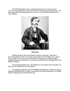 Doc Holliday - A Short Biography for Kids