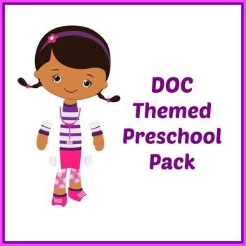Doc McStuffins Themed Preschool Pack