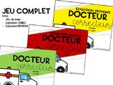 Docteur Correcteur: jeu COMPLET // 2e cycle