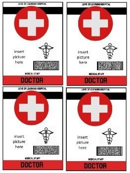 Hospital Room Transformation: Doctor Badges