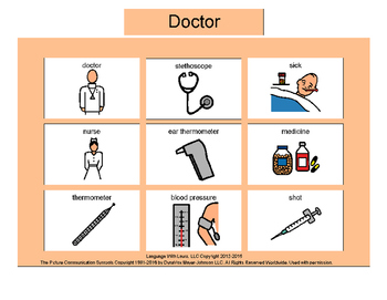 Doctor Bingo! Multiple Boards [speech therapy and autism]