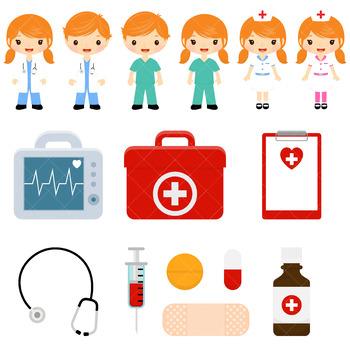 Doctor Clipart, Doctors and Nurses Clip Art