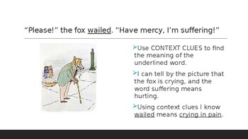 Doctor De Soto: Context Clues Practice