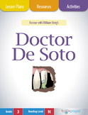 Doctor De Soto Lesson Plans & Activities Package,Third Grade