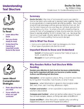 Doctor De Soto Lesson Plans & Activities Package,Third Grade