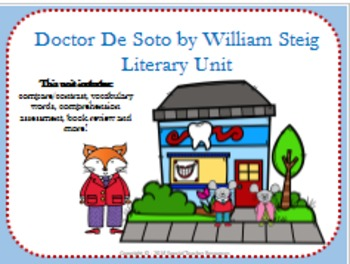 Doctor De Soto by William Steig Literary Unit