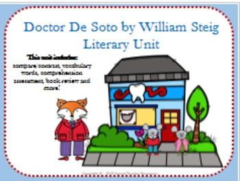 Doctor De Soto by William Steig Literary Unit