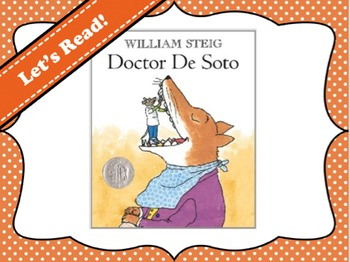 Doctor De Soto by William Steig Vocabulary Visuals (for ELLs)