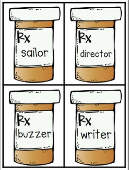 Doctor Doctor: Literacy Activities for the suffixes -er and -or