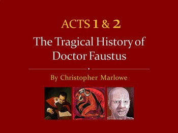 Doctor Faustus PowerPoint -- Acts 1 and 2 (AP)