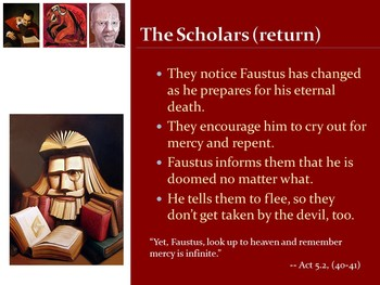 Doctor Faustus PowerPoint -- Act 5 (AP)