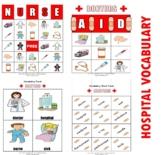 Doctor / Hospital Bingo Matching Activities