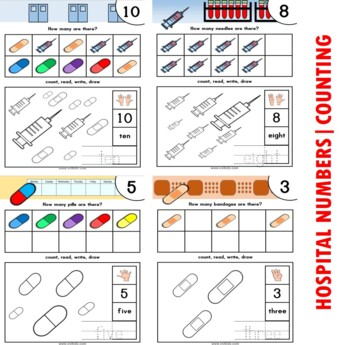 Doctor / Hospital Number / Counting Activities