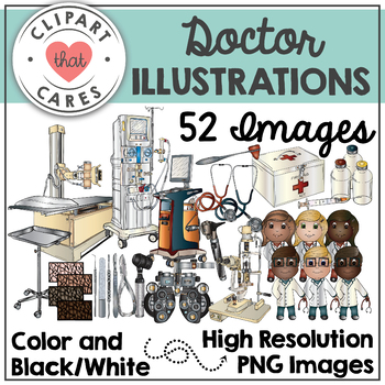 Doctor Illustrations Clipart by Clipart That Cares