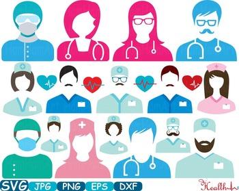 Doctor Medic Props Party Photo frame Clip art medicine med school graduate -207S