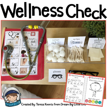Doctor Office Dramatic Play Center / Hospital Pretend Play Printables