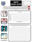 Doctor Opinion Writing Activity