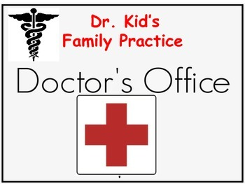 Doctor Pretend Play Props
