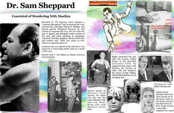 Sam Sheppard - F. Lee Bailey - Murder Trials - FREE POSTER