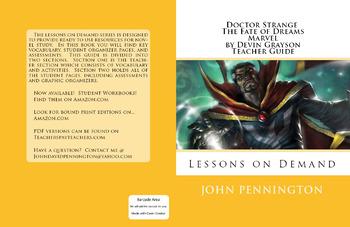 Doctor Strange The Fate of Dreams by Devin Grayson Teacher Guide Novel Unit