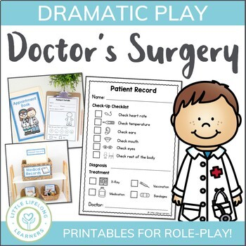 Doctor Themed Dramatic Play Set for imaginative role-play!