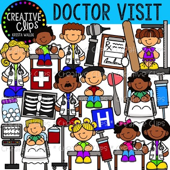 Doctor Visit Clipart {Creative Clips Clipart}