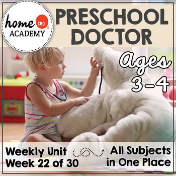 Doctor Community Helper - Weekly Unit for Preschool, PreK or Homeschool