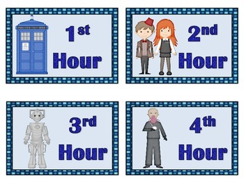 Who Classroom  Hour and Group Labels