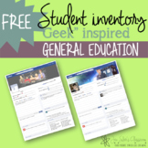 Facebook inspired student inventories