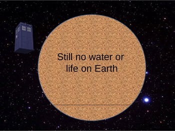 Doctor Who Shows How the Earth Formed
