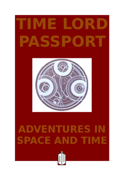 Doctor Who Time Lord Passport