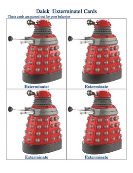Doctor Who meets Marzano Class Management System and Room Theme Decor
