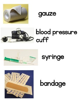 Doctor Word Wall Words