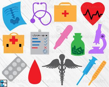 Doctor monogram V1 - Cutting Files and Clip Art Digital Files cod2c