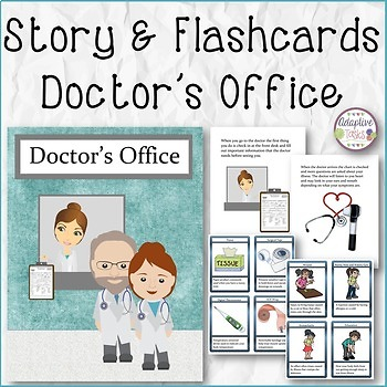 Doctor's Office Story and Flashcards