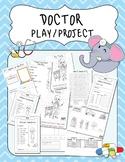 Doctor's Office Pretend Play set Literacy Activities Imagi
