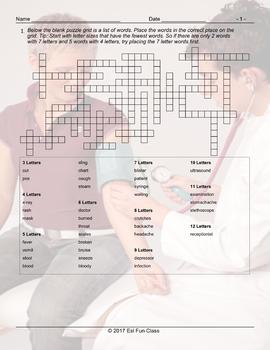Doctors-Illness Injury Framework Puzzle