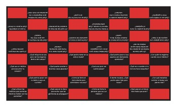 Doctors, Illnesses and Injuries Spanish Checker Board Game