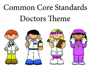 Doctors Kindergarten English Common core standards posters
