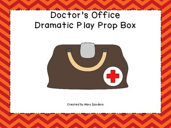 Doctor's Office Dramatic Play Kit