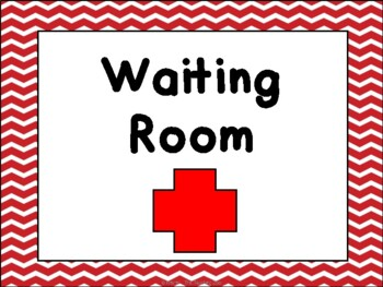 Doctor's Office Dramatic Play Pack {or Hospital}