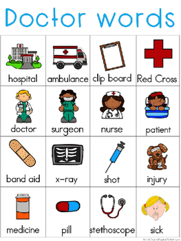 Doctors Writing Center Tools: Neighborhood Words