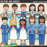 Doctors and Nurses Clip Art