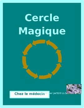 Chez le médecin (Doctor's visit in French) Cercle magique