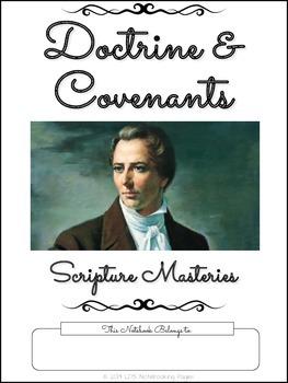 Doctrine and Covenants Scripture Masteries - Cursive