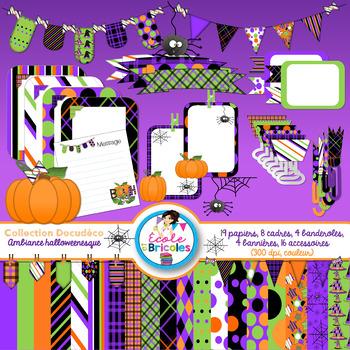 Docudéco Ambiance halloweenesque/ Halloween clipart