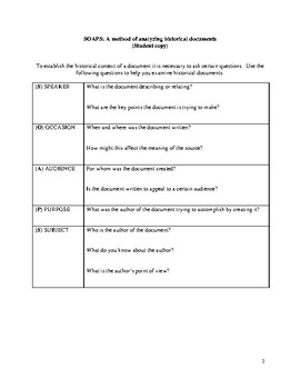 Document Analysis Guide (SOAPS)