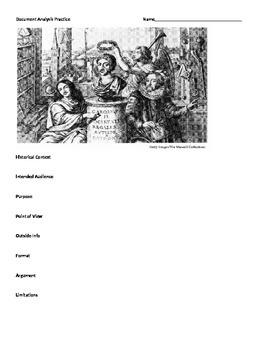 Document Analysis Practice Scientific Revolution/Enlighten