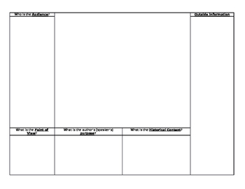 Document Analysis Template